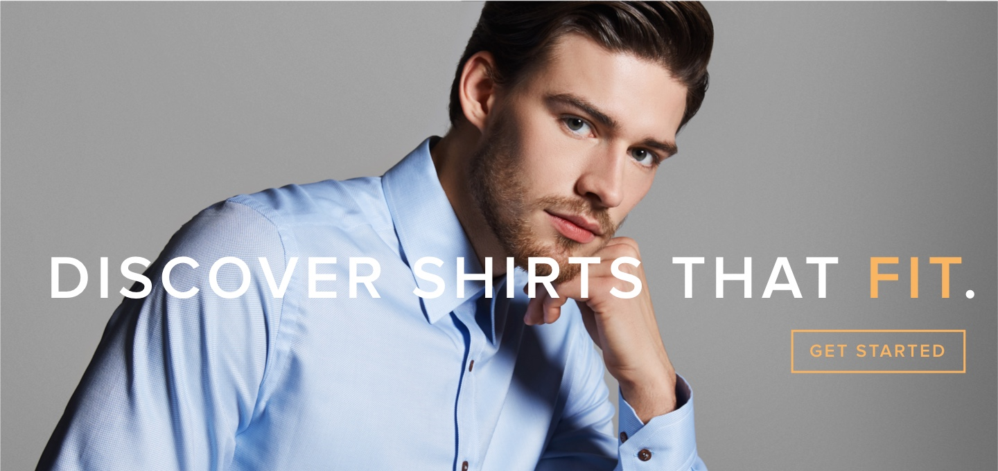 Find a shirt that fits. Sign up.